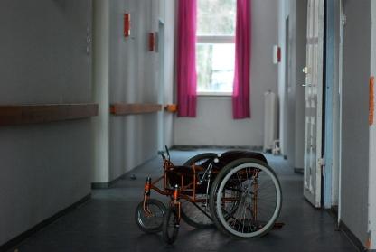 Rullestol, Sanatoriet i Luster